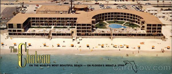 The Chateau, 12525 Highway 98 Alt. West Panama City Beach Florida. I lived at this motel for months after Katrina!
