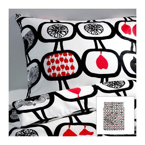 ÄNGSSKÄRA Quilt cover and 4 pillowcases - 200x200/50x80 cm  - IKEA