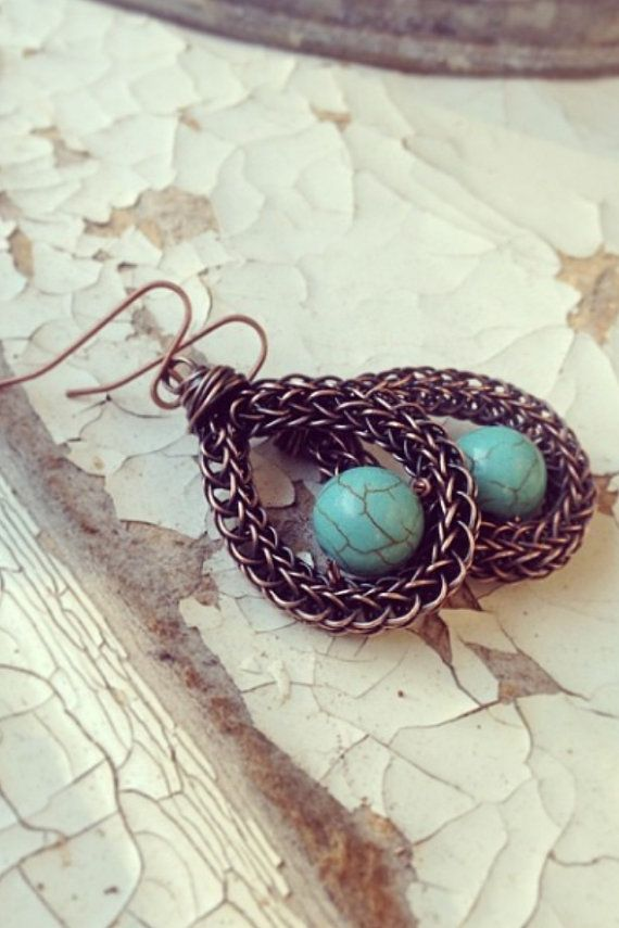 97 best Viking Knit images on Pinterest | Wire jewelry, Viking ...
