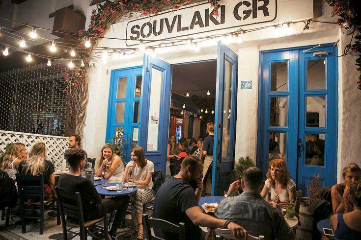 Ουρές για... greek souvlaki στο κοσμοπολίτικο Μανχάταν - Τι λες τώρα;