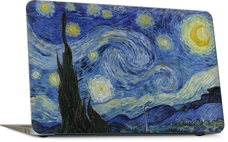 Starry Night Laptop Skin