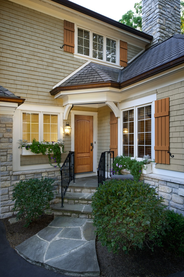 Best Images About Home Exterior Painting On Pinterest - Stained exterior shutters