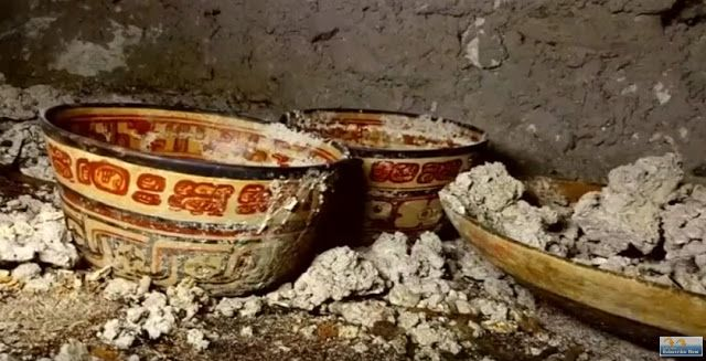 Ceramic bowls in one of the tombs [Credit: Reuters]. Pre-Columbian tombs discovered in Guatemala. Guatemalan archaeologists hope two tombs uncovered in Peten, Guatemala, will shed light on a clash between two kingdoms located in the Maya Lowlands during the Classic Maya period from 250 to 900 AD. The tombs in Peten, 310 miles (500 km) from the capital, Guatemala City, escaped decades of looting at the site, a group of archaeologists told a news conference on Monday.