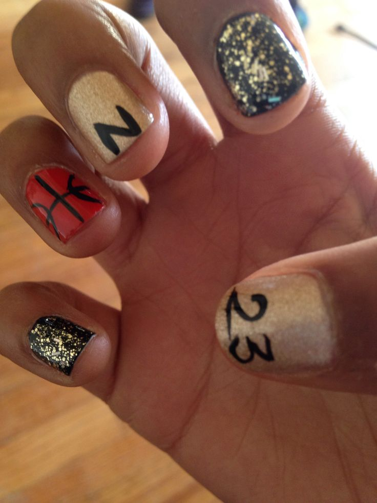 Best 25+ Basketball nails ideas on Pinterest | Cal ...