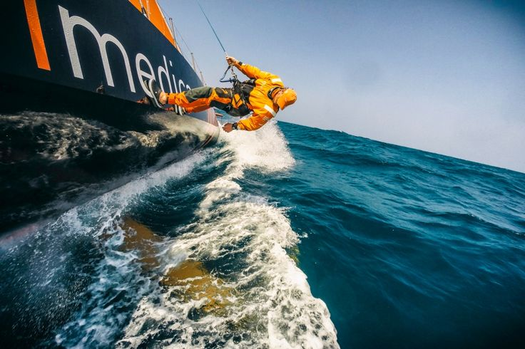 January 24, 2015. Leg 3 onboard Team Alvimedica.