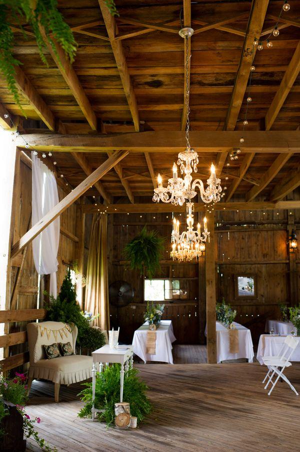 Chandeliers And Lights Barn Wedding 55 best