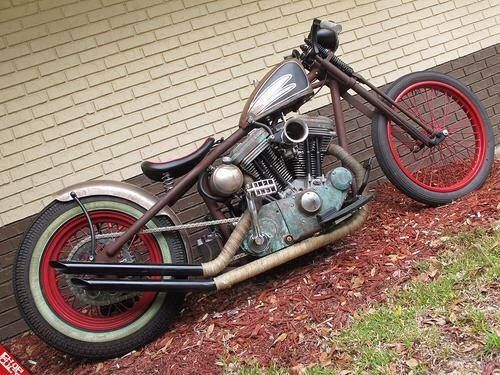 Harley | Bobber Inspiration - Bobbers and Custom Motorcycles | doug1935 July 2014
