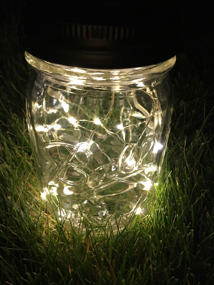 Mason Jar Lantern. Firefly Lantern. Home Decor.