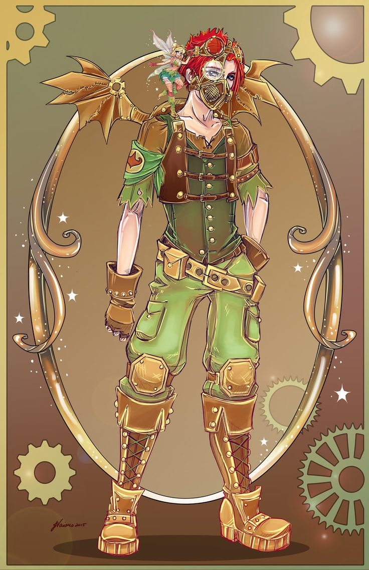 Steampunk Peter Pan by NoFlutter.deviantart.com on @DeviantArt