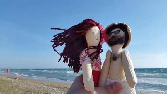 Mini custom doll Personalized doll Rag doll Birthday gift..by apacukababa