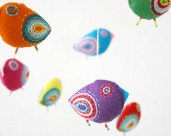 Etsy の 鳥 鳥の装飾を装飾します by moloco