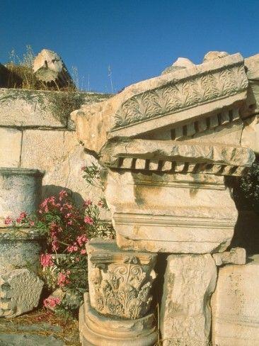 Ruins of Elefsina, Attica, Greece  by Rainer Hackenberg
