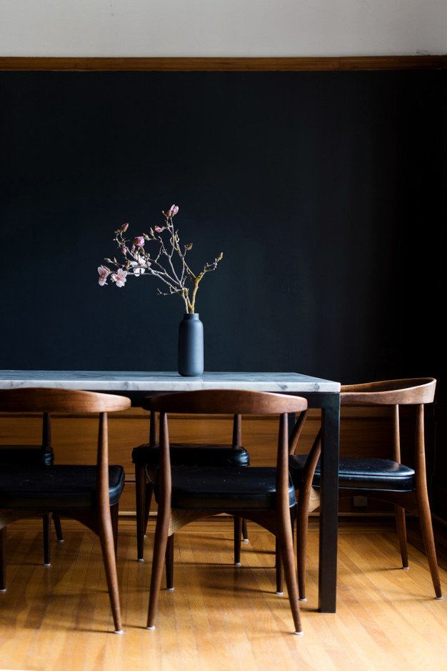 Modern Dining Rooms 2016 best 25+ dark dining rooms ideas on pinterest | black dining rooms