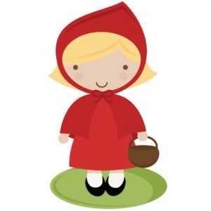 Red Riding Hood SVG cut file for scrapbooking story book svg files free svgs free svg cuts