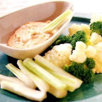 ブロッコリーとカリフラワーのディップサラダ | 川村由紀子さんのおつまみの料理レシピ | プロの簡単料理レシピはレタスクラブネット