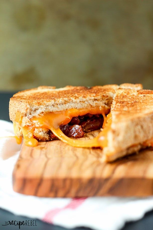 out Bacon Jam Grilled Cheese. It's so easy to make! | Cheese, Bacon ...