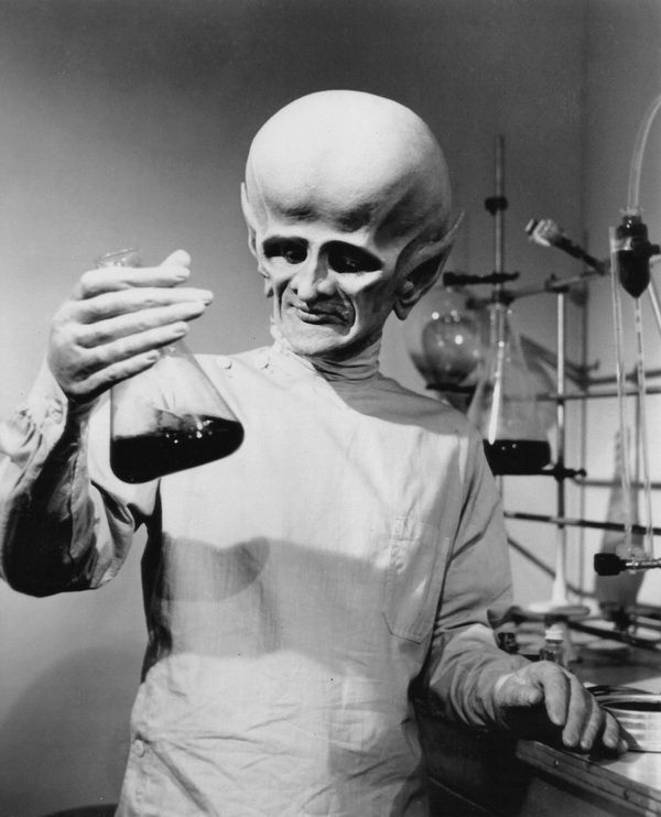 The Outer Limits, episode, The Sixth Finger, starring David McCallum (pictured), Edward Mulhare, Jill Haworth
