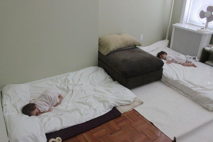 Sleeping For Twins The Montessori Way This Mom Skipped
