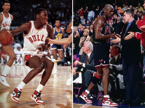 Michael Jordans Last Game at Madison Square Garden as a Chicago Bull. He rocked an original pair of Air Jordan 1s on this game instead of 13s.