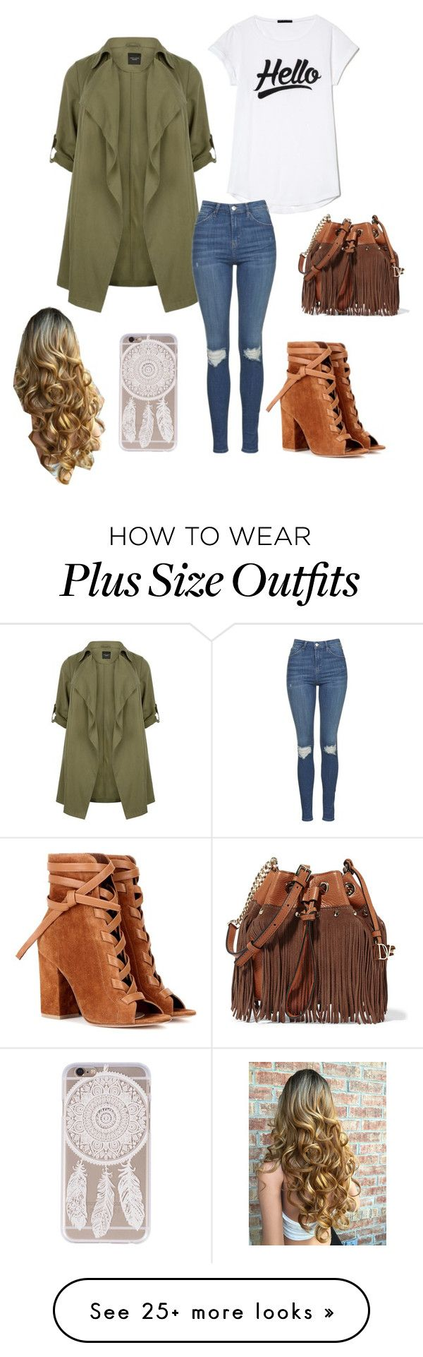 """""""Casual with style"""" by allyse-sympson on Polyvore featuring Topshop, Gianvito Rossi and Diane Von Furstenberg"""