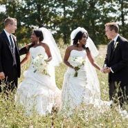 Elegant Double Wedding. Cute Pics By Shelley Paulson Photography On Weddingnouveau.