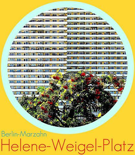 Berlin-Marzahn, Helene-Weigel, Platz, 2011