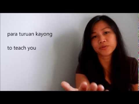 Introduction to Tagalog (Filipino) Language - with English and Tagalog s...