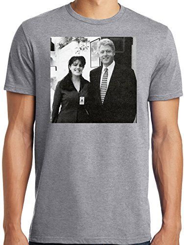 PubliciTeeZ Bill Clinton Monica Lewinsky Adult Photo T-Sh...