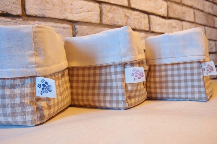 PORTA PANE IN STOFFA , porta tutto, contenitore di brice&mice chicche e pensieri Handmade su DaWanda.com