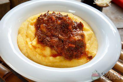 Receita de Ragu de ossobuco com polenta em receitas de carnes, veja essa e outras receitas aqui!