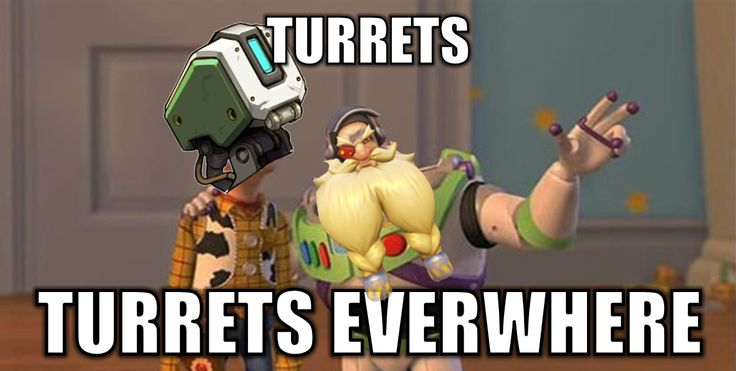Turrets EVERYWHERE! https://mygameprice.com/product/overwatch-price-origins-edition-cd-key/