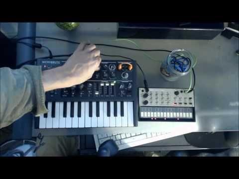 Korg Volca / Microbrute sync tutorial