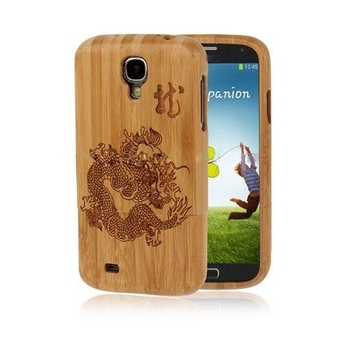 Bamboe (Draken) Samsung Galaxy S4 Echt Hout Case