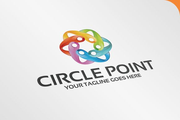 Circle Point - Logo Template by SpeedBlessing on @creativemarket