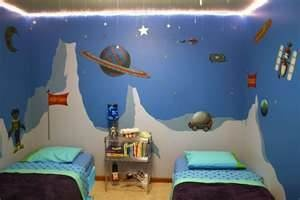 Homemade Outer Space Decorating - Food Room