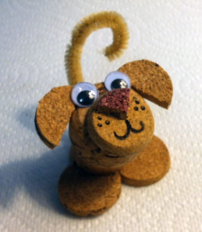 An animal lover, I thoroughly enjoy creating fun creatures using recycled corks…