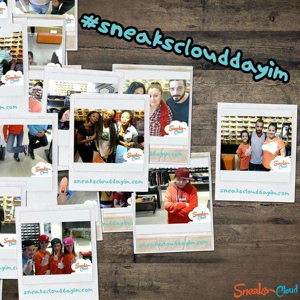Mağaza kiosklarımızda fotoğraf çekilen sneakers severleri  http://sneaksclouddayim.com   ve Facebook'da paylaşıyoruz :)