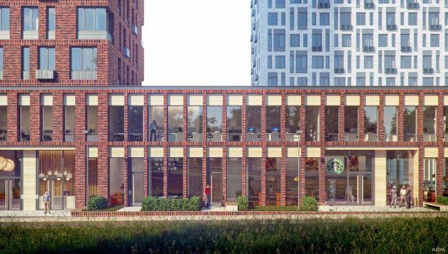 У границы Терлецкой дубравы по проекту бюро ADM строится жилой комплекс PerovSky, воплощающий в себе не букву, но дух идеологии квартальности.