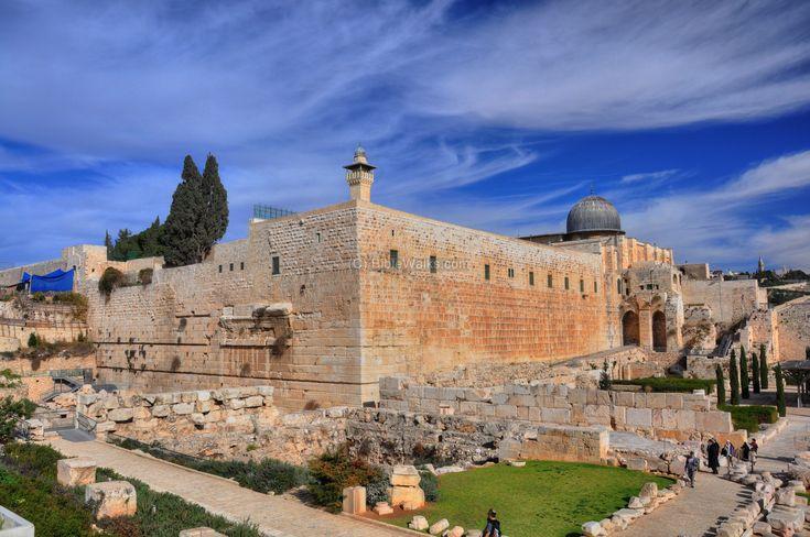 Jerusalem Temple Mount south-western corner.