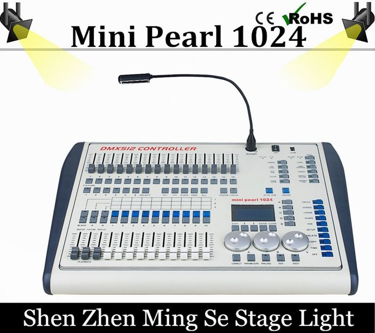 636.50$  Buy here - http://alimz8.worldwells.pw/go.php?t=32778647412 -  Mini Pearl 1024 DMX Controller For Led Moving Light DMX Lighting Controller With FASE,WAVE DMX Controller Pearl 1024 Box