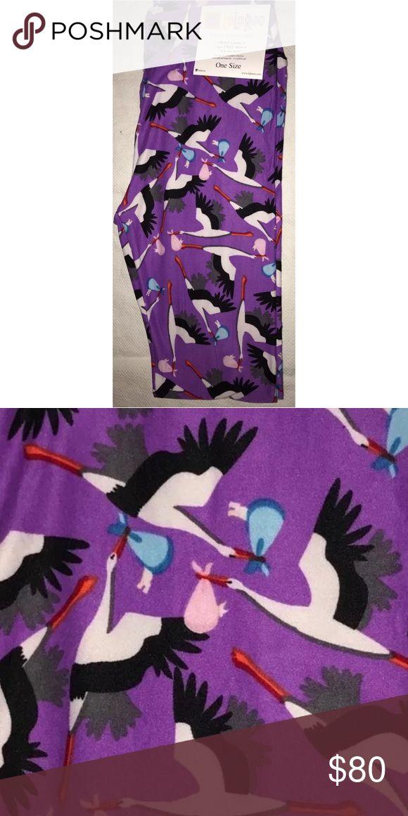 Selling this LuLaRoe Stork Leggings on Poshmark! My username is: misscarena. #shopmycloset #poshmark #fashion #shopping #style #forsale #LuLaRoe #Pants