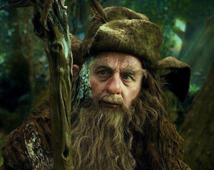 Radagast  istari  magos  el hobbit  un  viaje inesperado