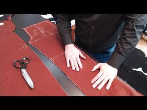 Лекция о посадке брюк Как посадить брюки на фигуру Формование брюк в процессе изготовления Часть 2 - YouTube