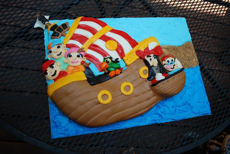 Confection birthday cake boy s jake and the neverland pirates