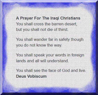 A Prayer For Iraqi Christians  -  Lebanese TV Station Airs Support For Christians In Iraq..