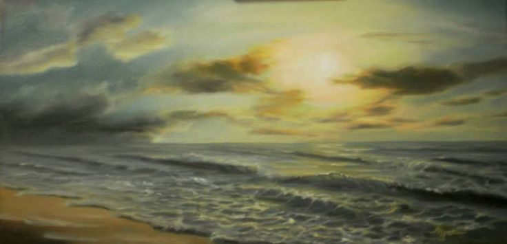 30x60cm, oil on canvas, NOT AVAILABLE (Privete collection > Leandros M. Spartiotis)
