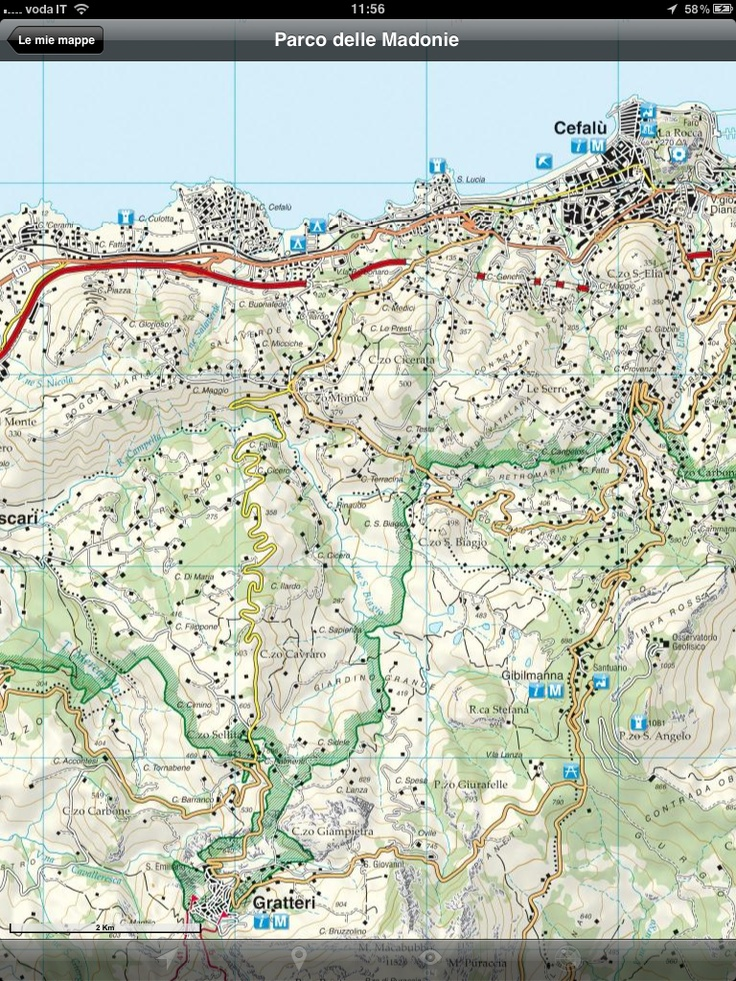 Soon available the New Hiking Trails Map of Madonie Regional Park, #Sicily, #Italy