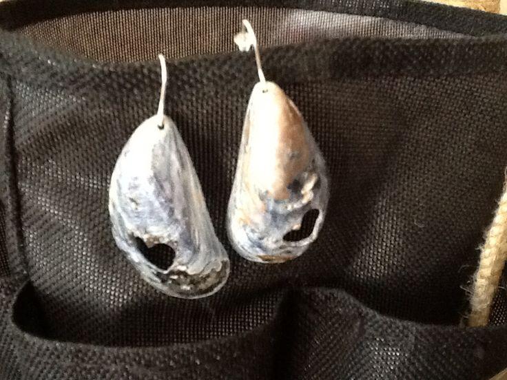Seashells and silver