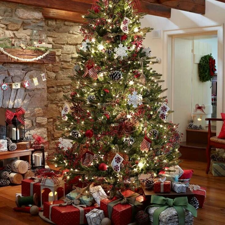 Holiday Home Design Ideas: Rustic Holiday Decor