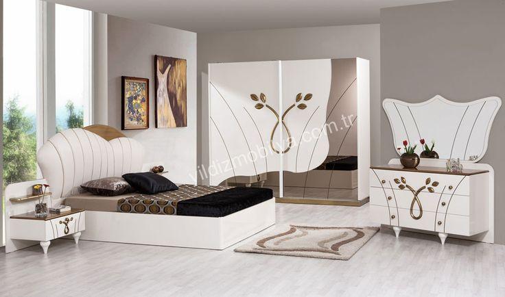 Haliç Yatak Odası #new #popüler #evdekorasyon #kadın #moda #bed #bedroom #avangarde #modern #pinterest #yildizmobilya #furniture #room #home #ev #young #decoration #moda       http://www.yildizmobilya.com.tr/